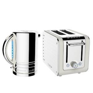 Dualit Architect Kettle and 2 Slot Toaster Bundle - Canvas