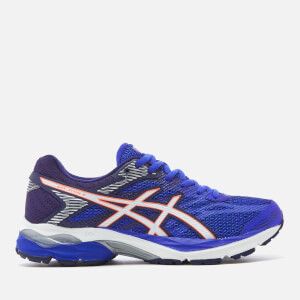 Asics Women's Gel Flux 4 Trainers - Blue Purple/White
