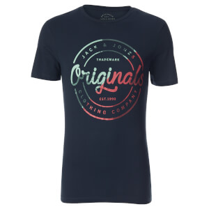 Jack & Jones Men's Originals Logo T-Shirt - Total Eclipse