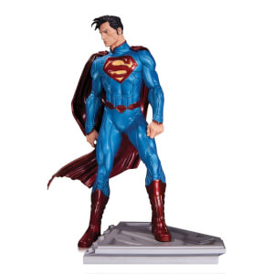 DC Statue Superman Man Of Steel By John Romita Jr 18cm