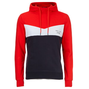 Jack & Jones Men's Core Clarens Hoody - Poinciana