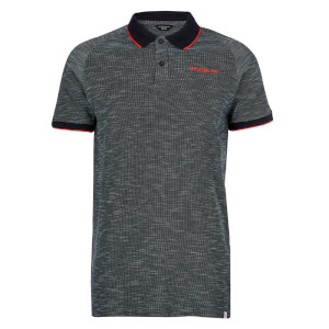 Jack & Jones Men's Core Melange Polo Shirt - Sky Captain