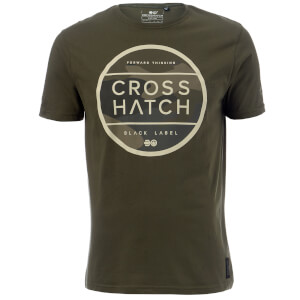 Crosshatch Men's Watkins T-Shirt - Beetle