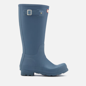 Hunter Men's Original Tall Wellies - Tarp Blue