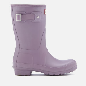 Hunter Women's Original Short Wellies - Thunder Cloud