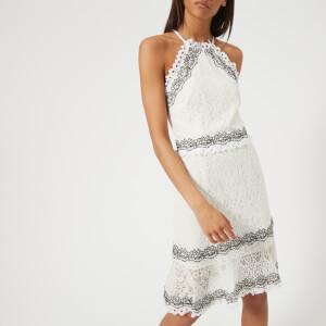 Foxiedox Women's Frances Halter Dress - Off White