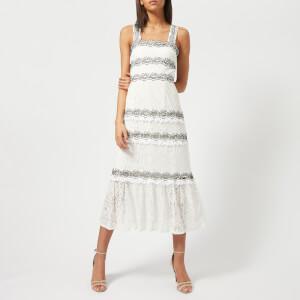 Foxiedox Women's Frances Midi Dress - Off White