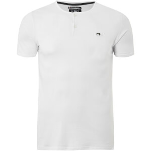 Le Shark Men's Cook Button Neck T-Shirt - Optic White