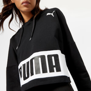 Puma Women's Urban Sports Hoody - Cotton Black