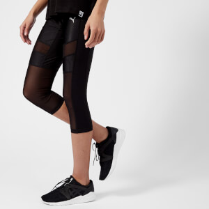 Puma Women's En Pointe 3/4 Tights - Puma Black