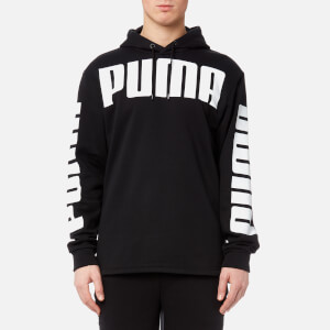 Puma Men's Rebel Full Zip Hoody - Cotton Black
