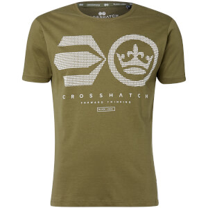 Camiseta Crosshatch Crisscross - Hombre - Verde aceituna