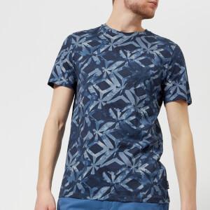 Ted Baker Men's Woof Geo Print T-Shirt - Dark Blue