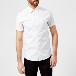 Ted Baker Men's Wallo Short Sleeve Shirt - White