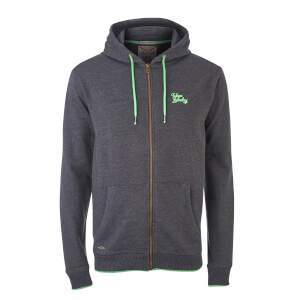 Tokyo Laundry Men's Hanover Zip Through Hoody - Charcoal Marl