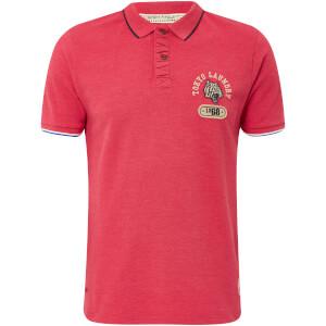 Tokyo Laundry Men's Tiger Bay Polo Shirt - Tokyo Red Marl