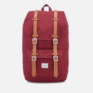Herschel Supply Co. Men's Little America Backpack - Wine/Tan