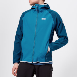 Jack Wolfskin Men's Zenon Softshell Jacket - Glacier Blue
