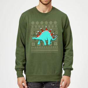 Stegosantahats Sweatshirt - Forest Green