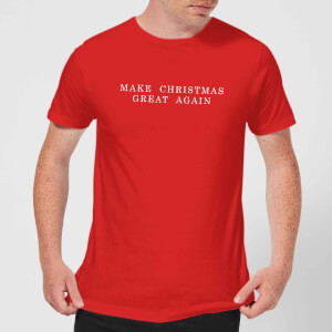 Make Christmas Great Again T-Shirt - Red