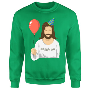 Birthday Boy Sweatshirt - Kelly Green