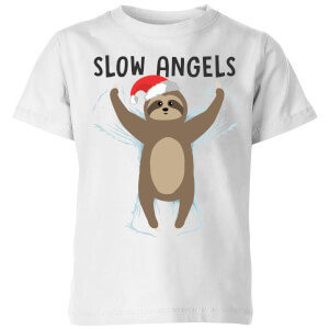 Slow Angels Kids' T-Shirt - White