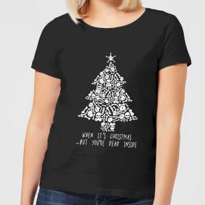 Dead Inside Women's T-Shirt - Black