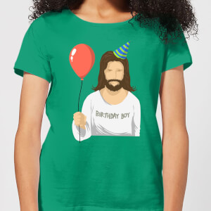 Birthday Boy Women's T-Shirt - Kelly Green