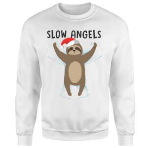Slow Angels Sweatshirt - White