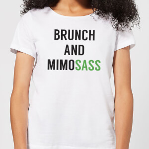 Brunch and Mimosass Women's T-Shirt - White