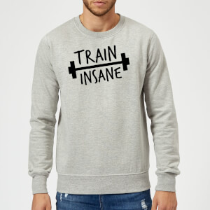 Train Insane Sweatshirt - Grey