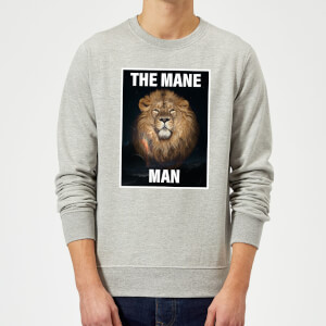 The Mane Man Sweatshirt - Grey