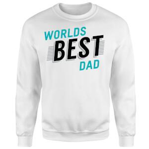 Worlds Best Dad Sweatshirt - White