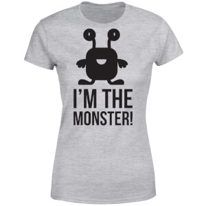 I'm the Monster Women's T-Shirt - Grey