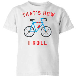 My Little Rascal Thats How I Roll Kids' T-Shirt - White