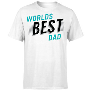 Worlds Best Dad T-Shirt - White