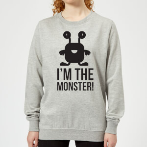 I'm the Monster Women's Sweatshirt - Grey
