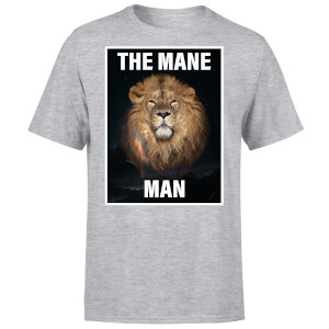 The Mane Man T-Shirt - Grey