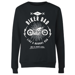 Biker Dad Women's Sweatshirt - Black