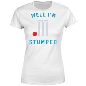 Well Im Stumped Women's T-Shirt - White