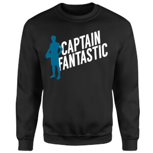 Captain Fantastic Sweatshirt - Black