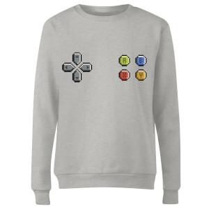 Pad Gaming Women's Sweatshirt - Grey