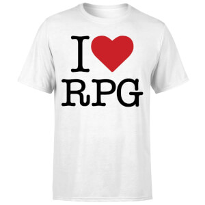 I Love RPG T-Shirt - White