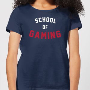 School of Gaming Women's T-Shirt - Navy