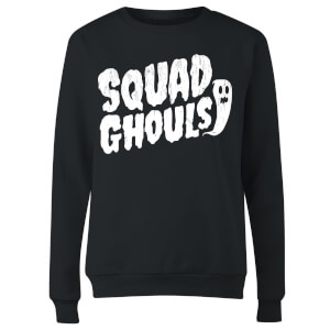 Squad Ghouls Women's Sweatshirt - Black