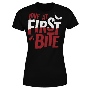 Love at First Bite Women's T-Shirt - Black