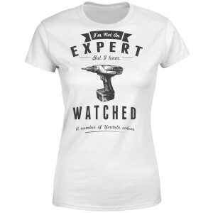 Im not an Expert Women's T-Shirt - White