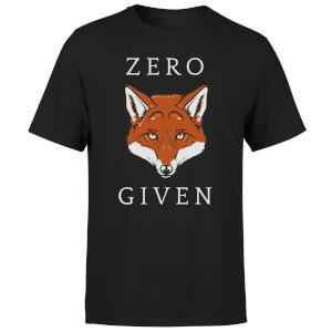 Zero Fox Given T-Shirt - Black
