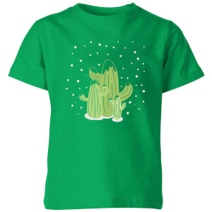 Cactus trio Kids' T-Shirt - Kelly Green