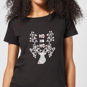 Ho Ho Ho Women's T-Shirt - Black